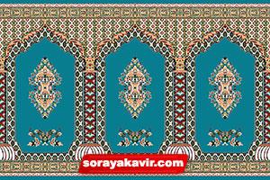 خرید اینترنتی فرش سجاده ای کاشان با قیمت سجاده فرش کارخانه