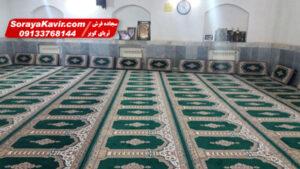 سجاده فرش با جنس نخ اکریلیک