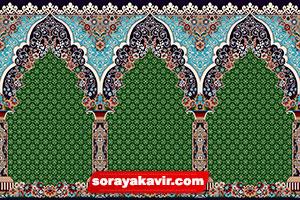 فرش سجاده ای برای مسجد - سجاده فرش برای نمازخانه
