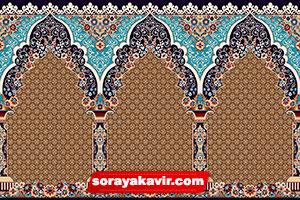 فرش سجاده ای برای مسجد - فرش سجاده محرابی مسجدی