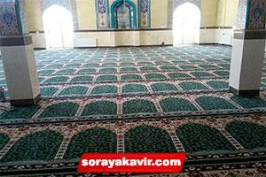 فرش سجاده ای مسجد سبز