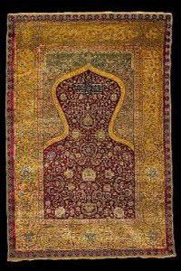 تاریخچهی بافت فرش سجاده ای توسط مسلمانان در طول تاریخ
