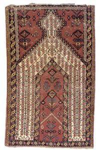 فرش سجاده ای (سجاده فرش) نمادی از وحدت و یگانه پرستی