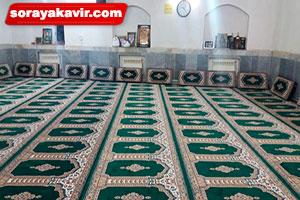 پشتی سجاده ای برای مسجد