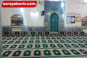 پشتی هم طرح سجاده برای مسجد