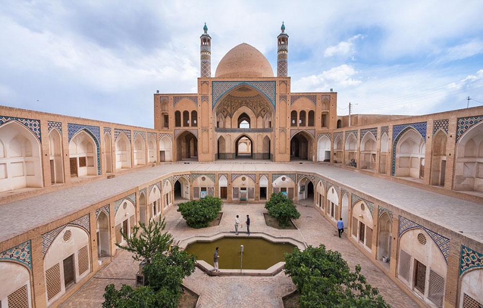 فرش مسجدی ثریا کویر کاشان