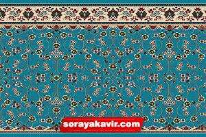 prayer carpet for masjid - Blue