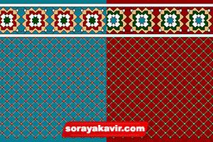Islamic Prayer Carpet - Mosque Rugs - Prayer Mat Roll