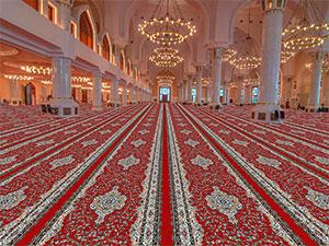 سجاده فرش بدون محراب مسجد